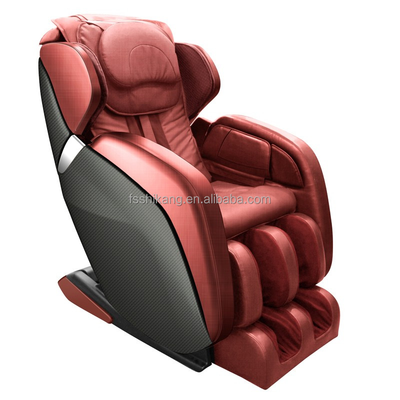2015 latest luxury 3d zero gravity massage chair with foot