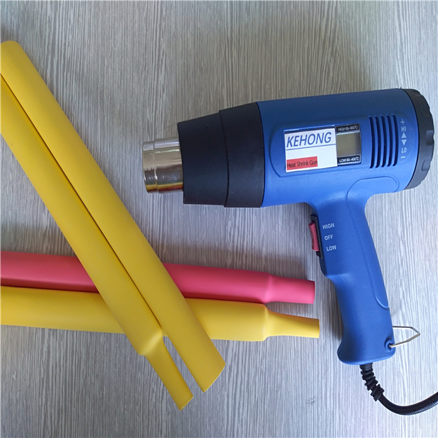 two color heat shrink tube