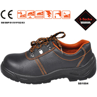 Liberty safety shoes with black color