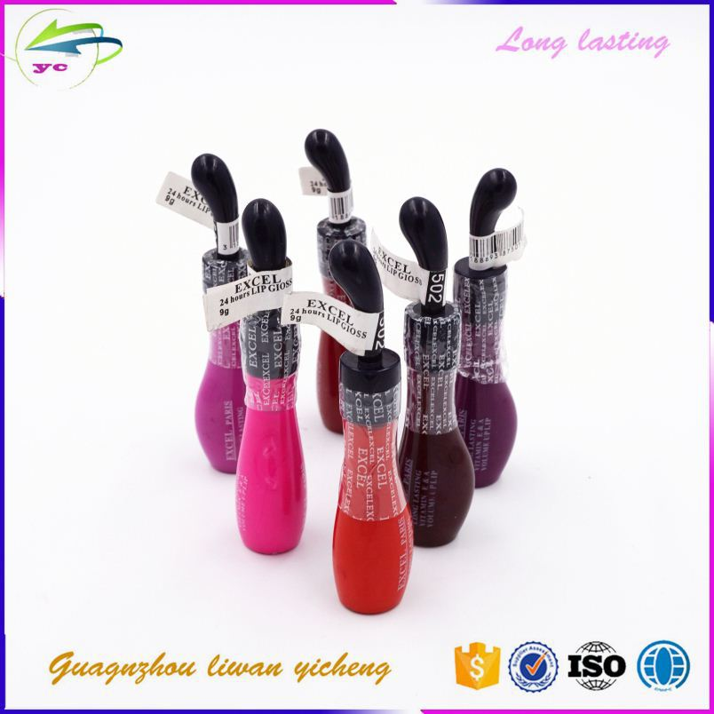 emballage cosmetic long lasting private label lip gloss