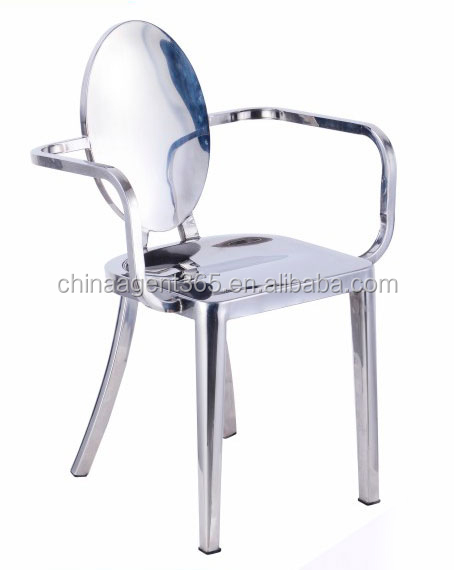 Modern stainless steel dining chair legs/high quality stainless steel table and chair sets