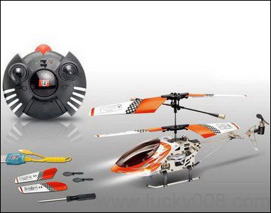 Mini 3.5ch Gyro Metal Rc Helicopter Model