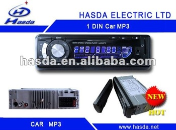 1 din Car Radio Mp3 player with SD,USB,detachable panel