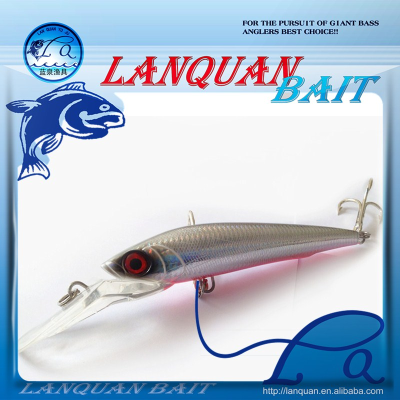LANQUAN best big lure casting ABS Minnow Fishing Lure LQ1218
