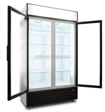 Commercial supermarket refrigerator used for sale display freezer