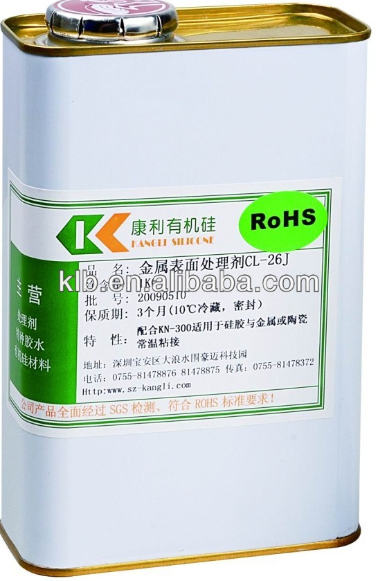 high quality silicone primer ink metal adhesive