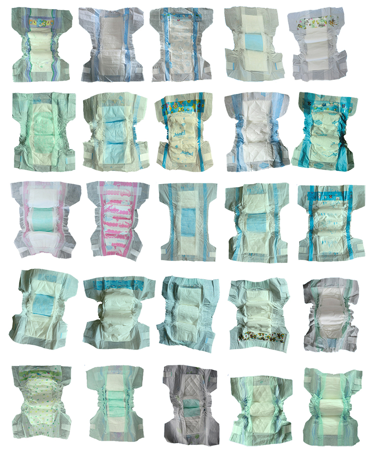 2017 New food grade wholesale sleepy name brand baby diapers