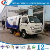 2tons 3tons 2CBM 3CBM Sand road sweeper Snow road cleaning truck for sale