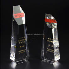 The high-end custom creative new Chinese crystal trophy decoration crafts souvenir islamic trophytrophy