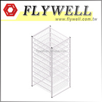 10 Tier DIY Home Wire Storage Basket Shelf