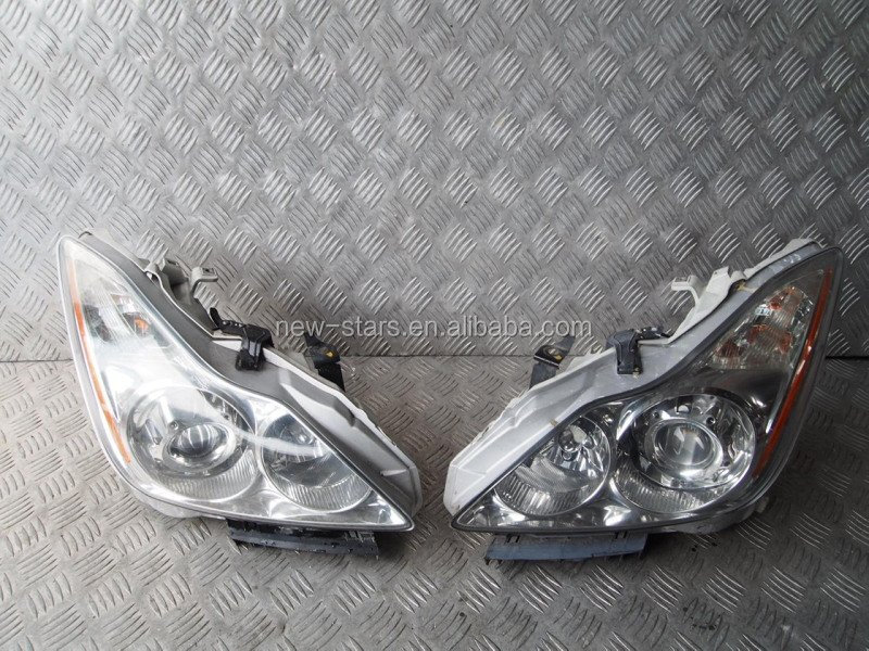 USED JDM Skyline V36 INFINITI G25 G35 G37 2Door PROJECTOR HID Headlights OEM