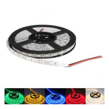 5050 SMD RGB Led Strip Light 60Leds/M DC 12V Non /ip65 Waterproof Kitchen Cabinet Counter LED Tape white red pink blue lamp