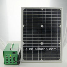 Residential complete home solar power system kit with solar panel / battery