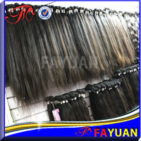 100% natural color no shedding&tangle free Filipino Wholesale Remy Hair weave