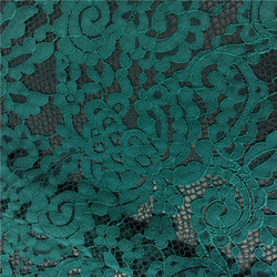 S360 Double color nylon cotton austrian embroidery lace fabric for clothes