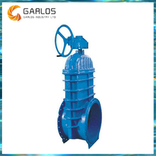 RVHX Resilient seat bevel DN500 PN16 gear operated gate valve