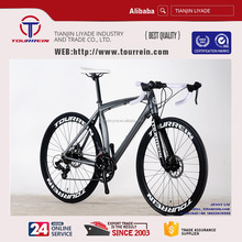 700C alloy frame road bicycle 14spd China bike manufactory