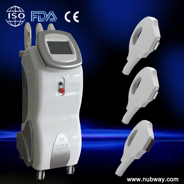 Top high performance 2014 3-in-one multi-functional laser hair removal ipl head