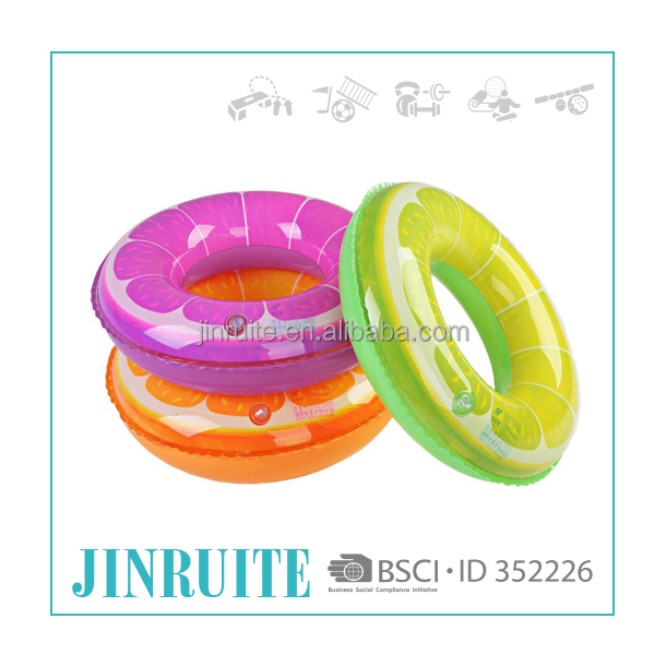 OEM pvc inflatable foam swimming ring
