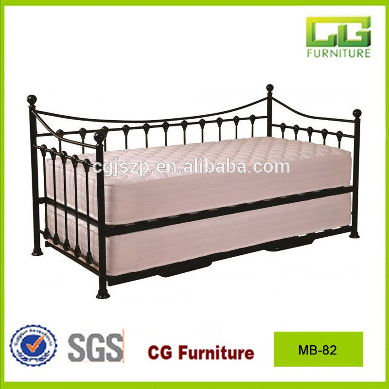 Modern high quality metal bed adult day beds