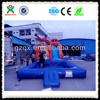 2014 new design cheap giant inflatable water slides for adult and kids QX-116