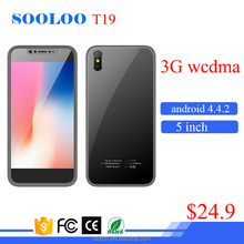 Cheap China low price MTK6580 5 inch 3G WCDMA GSM dual sim mobile smart phone android smartphone with wifi