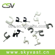 R series plastic electric wire cable clips