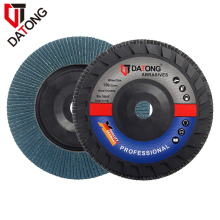 "Datong 6""inch Zirconia Plastic Backing Abrasive Wheel"