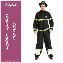 Wholesale long rompers 100% Polyester fireman sam costume to cosplay party