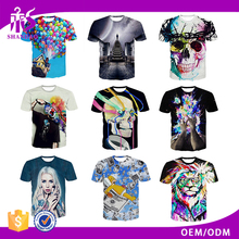 Guangzhou Shandao OEM Manufacturer Fashion Casual 180g 100% Polyester Short Sleeve O-Neck Sublimation Sport T Shirt
