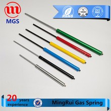 Factory supplier high quality steel material compression cabinet lift support silver gas spring 200n
