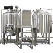 3HL 5HL 7HL 10HL 15HL beer brewing equipment with brew house mash tun boil kettle and fermentation tanks