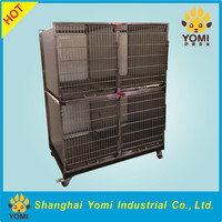Popular pet cage strong stainless steel dog cage