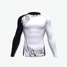 custom printed rash guard surf or swim rashguard