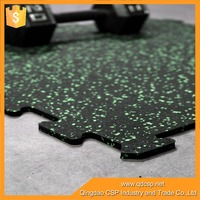 color fastness high safety index interlocking sports flooring mat