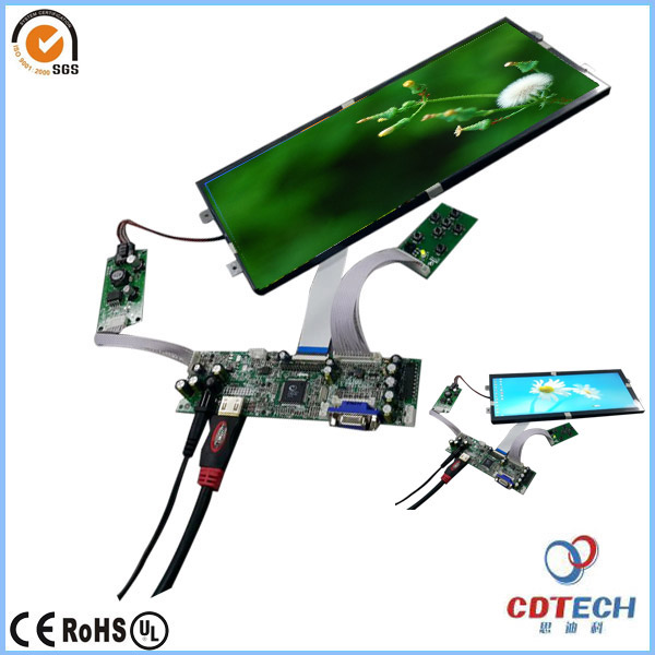 12.3 inch TFT Type LCD touch panel with high luminance 1000nits and ALL view