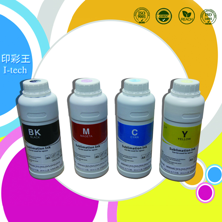 Sublimation ink with chip for Epson F6080