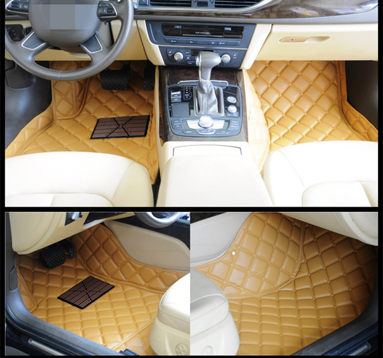 Auto Accessories waterproof car mat leather 3d car floor mats for Porsche Cayenne
