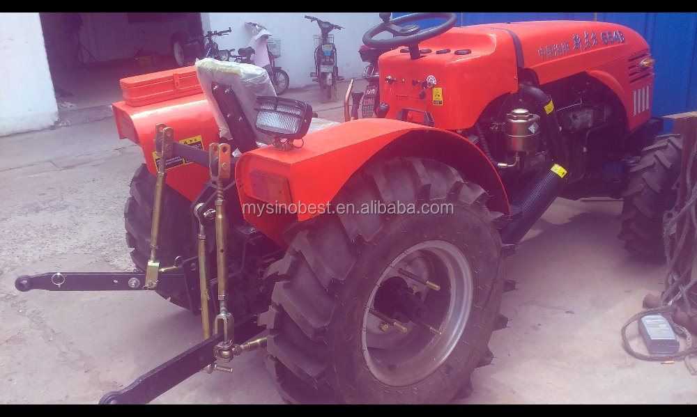 One Wheel Tractor Tiller For Tractor Mounted Corn Combine Harvester