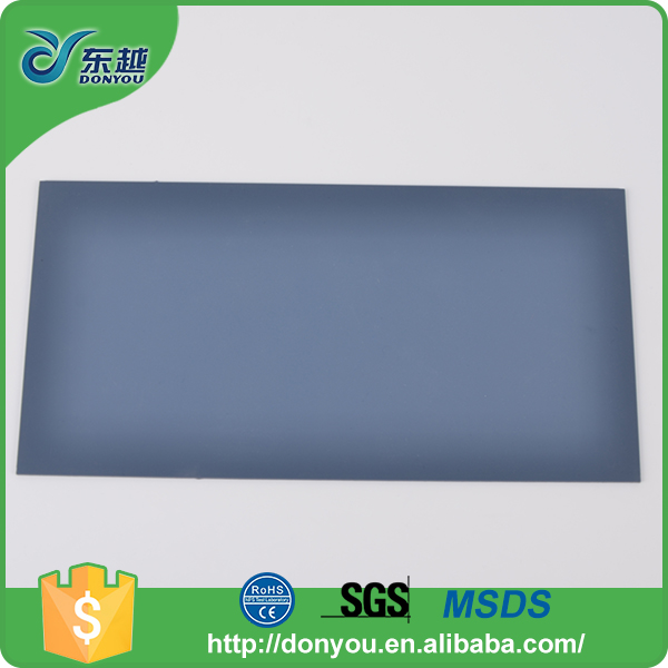 Best quality non slip multi-size durable PU anti slip rubber sheet with high quality