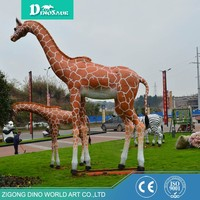 Large Wild Animal Simulation Giraffe