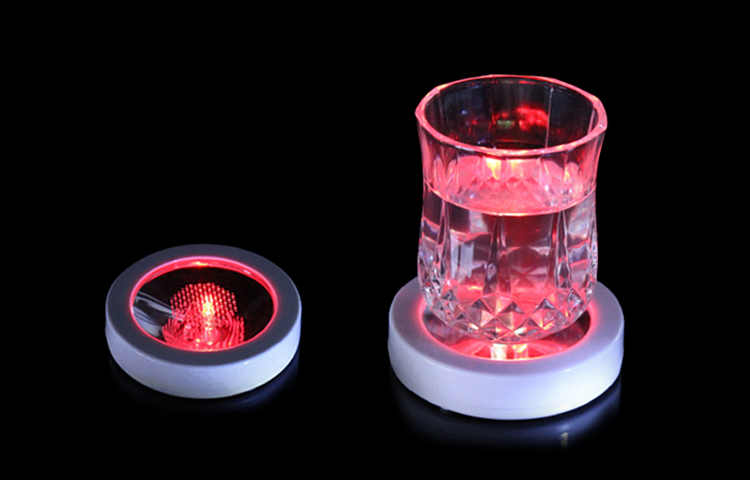 Wholesale Gift Items Flash Bar Lights Weight Sensitive Light Up Drink Coasters Buy Light Up