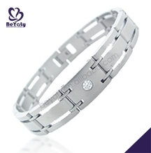 Christmas gift 316L stainless steel handmade leather bracelet ideas
