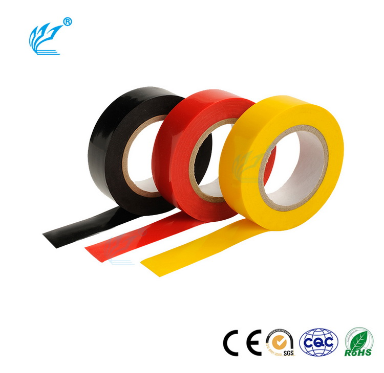 Strong Adhesive All Weather Corrosion Protection PVC Black Pipe Wrapping Tape