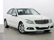 2011 Mercedes Benz C180 CGI BLUEEFFICIENCY SE White 21514SL