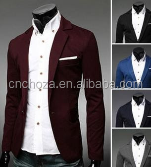 Z50409B hot sale fashion suit wholesale cheap price men men slim fit blazer
