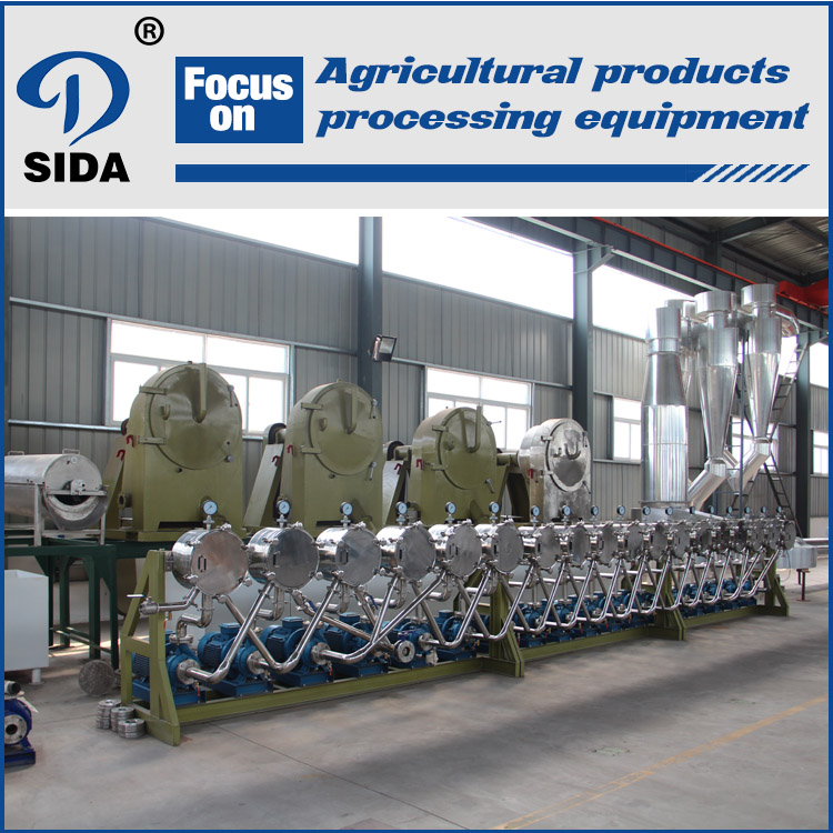 Purified cassava starch production line | potato starch processing line | tapioca starch machine | tapioca starch specification