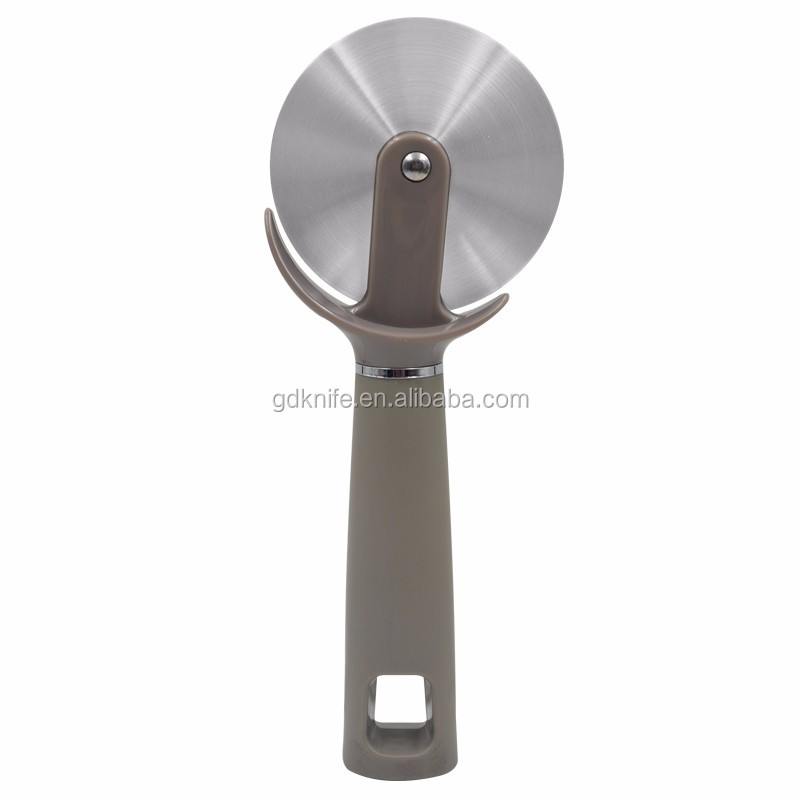 2017 High quality food grade household PP handle stainless steel pizza wheel