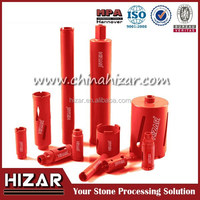 laser welded wet diamond core drill bits for reinforced concrete