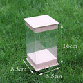 Clear Cake Box / Wedding Baking Boxes / Bakery Muffin Toy Boxes